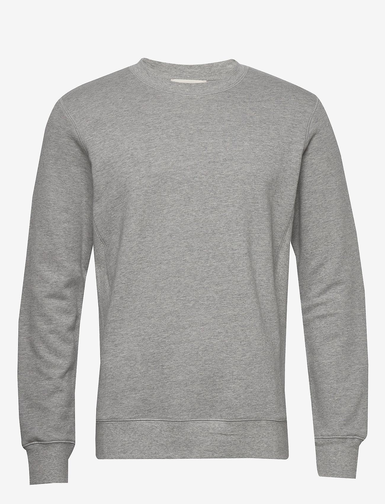 By Garment Makers The Organic Sweatshirt - Sweatshirts LIGHT GREY - Menn Klær
