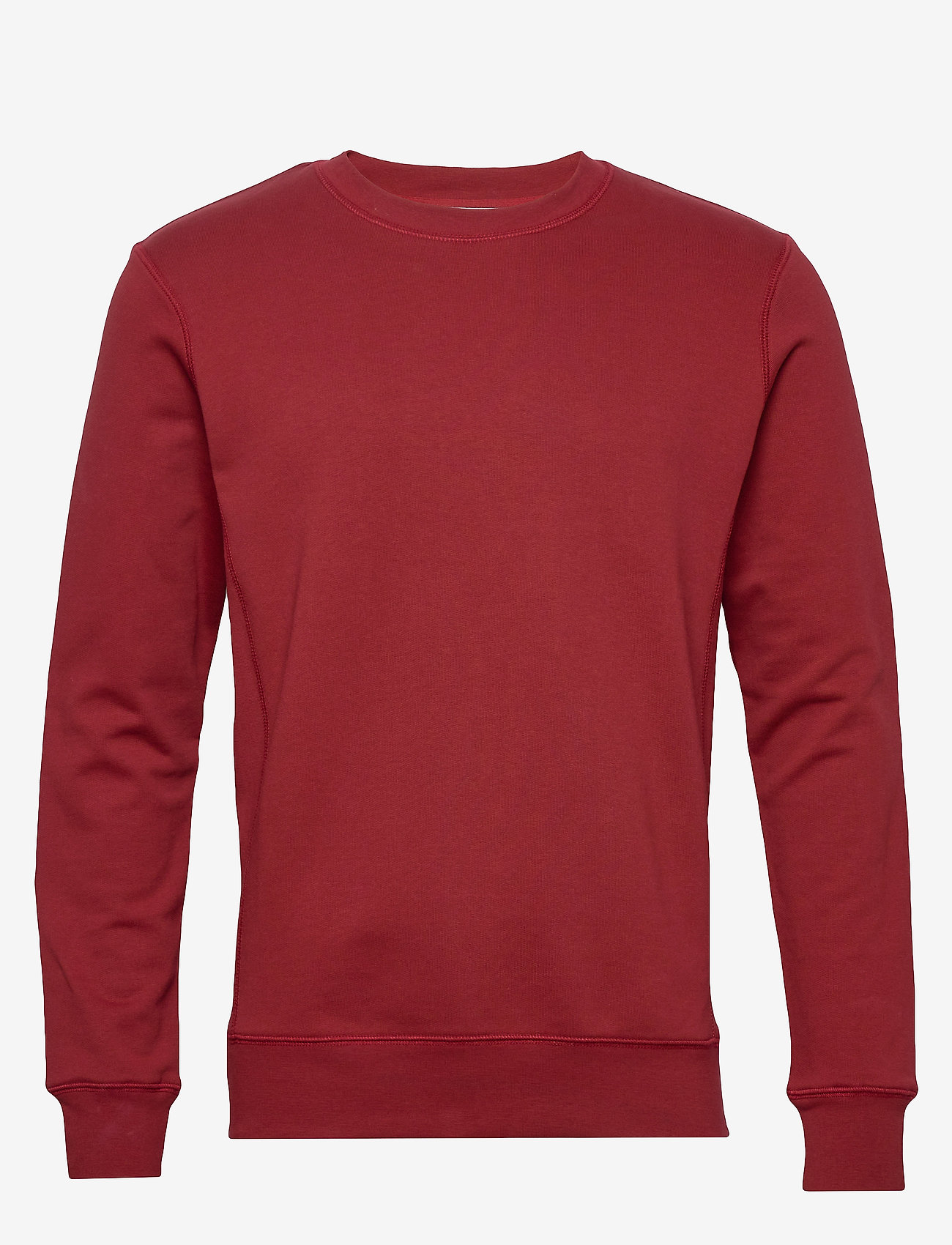 By Garment Makers The Organic Sweatshirt - Sweatshirts MERLOT - Menn Klær