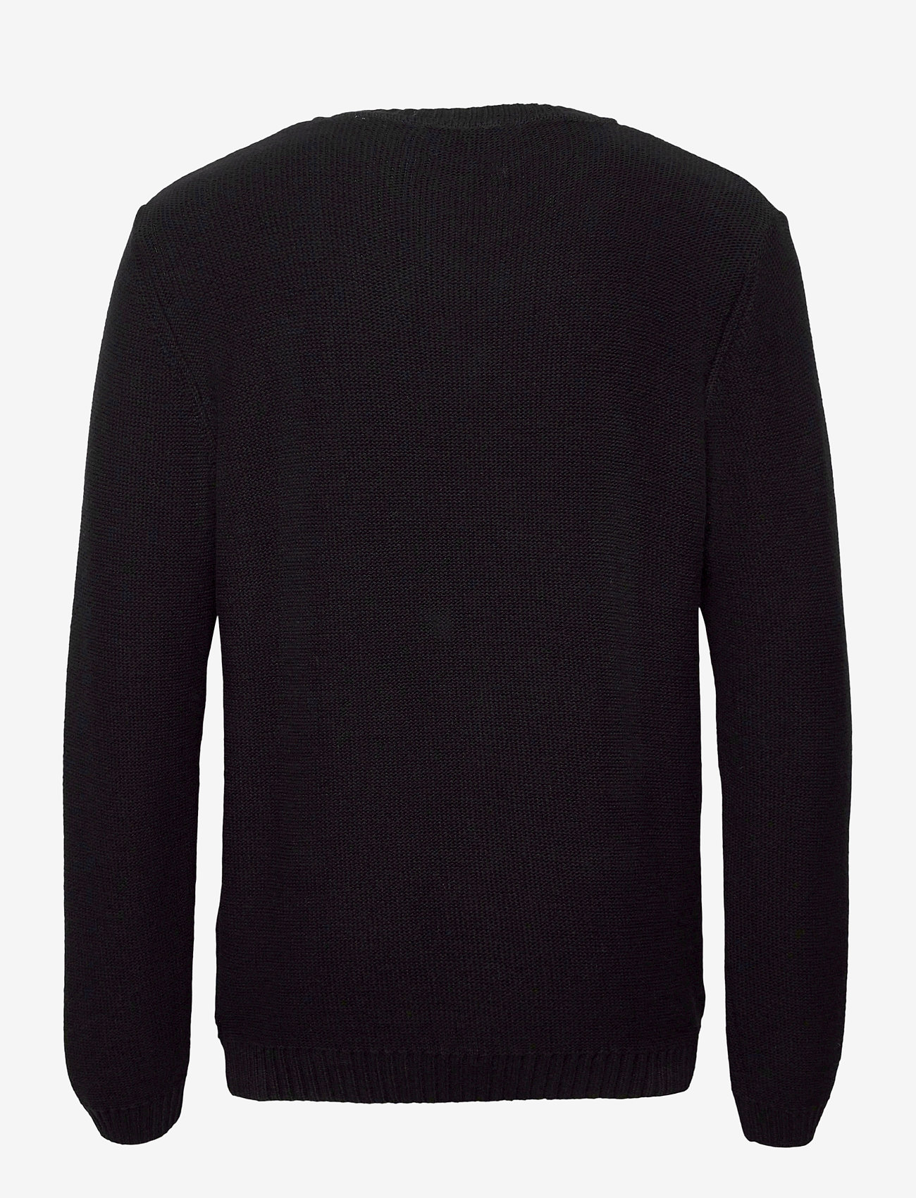 By Garment Makers Daniel - Strikkevarer JET BLACK - Menn Klær