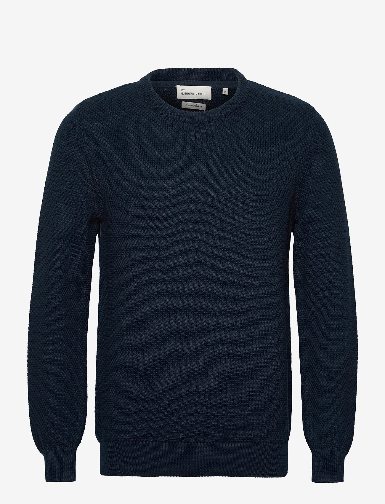 By Garment Makers The Organic Waffle Knit - Strikkevarer NAVY BLAZER - Menn Klær