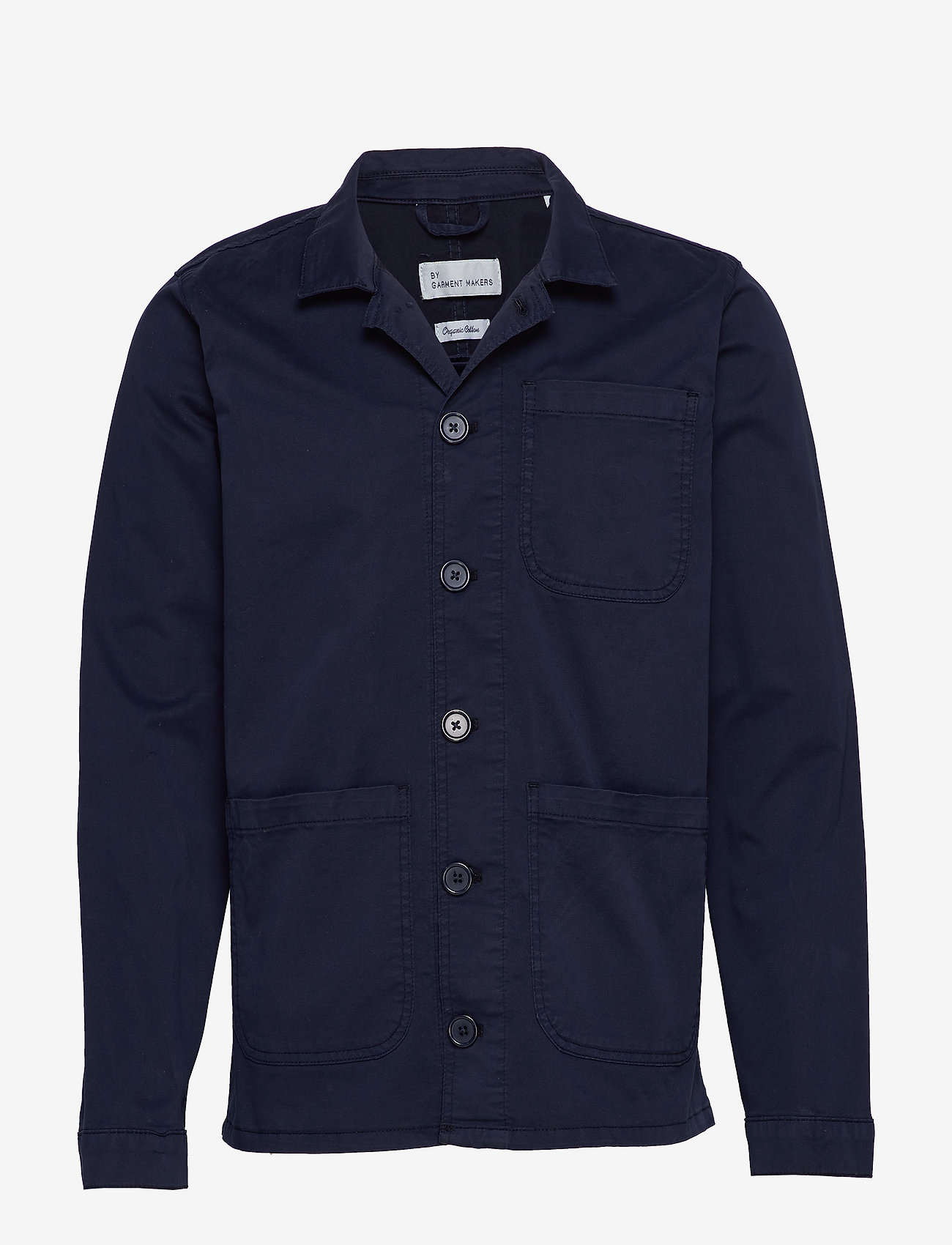 By Garment Makers - The Organic Workwear Jacket - podstawowe koszulki - navy blazer - 0