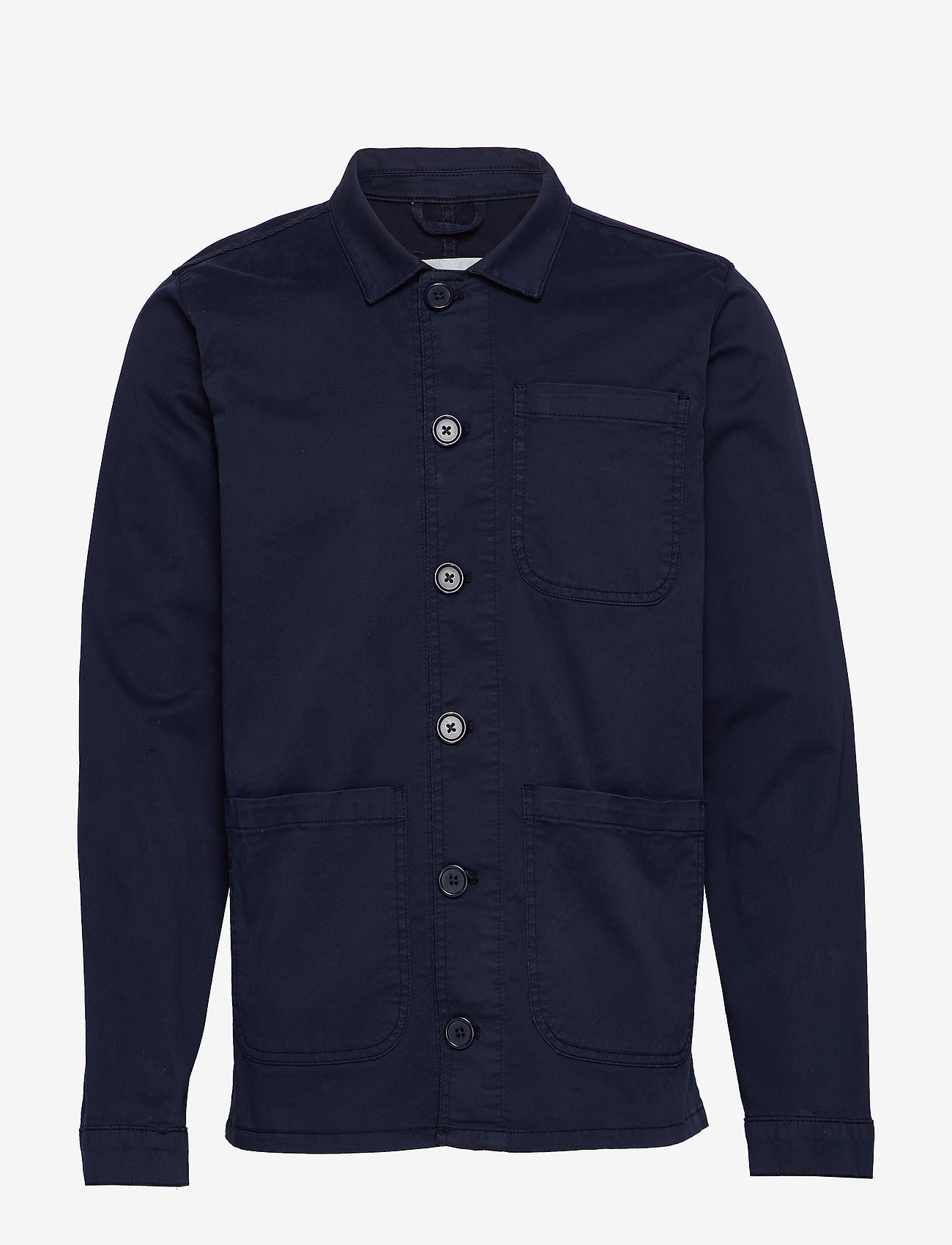 By Garment Makers - The Organic Workwear Jacket - podstawowe koszulki - navy blazer - 1