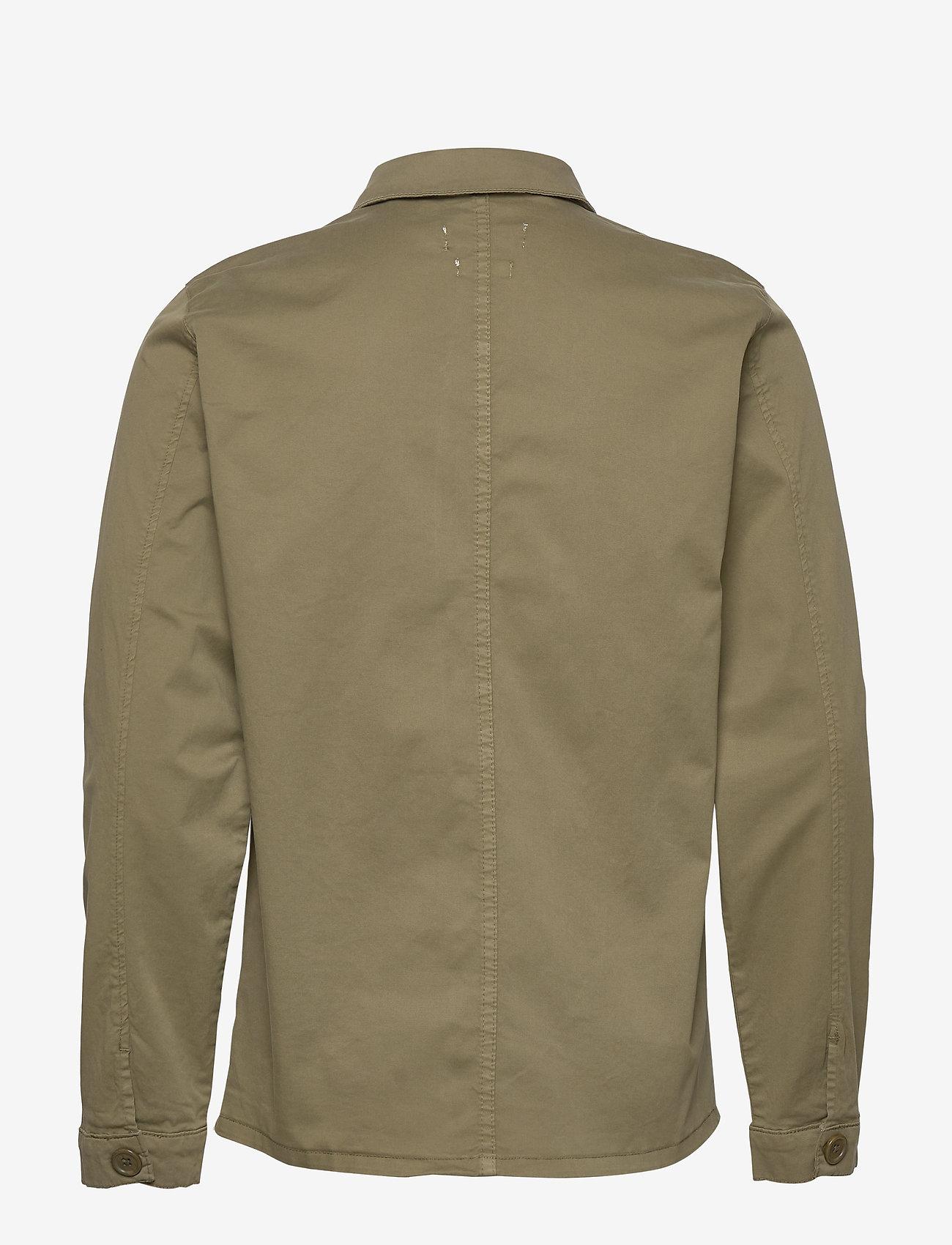 By Garment Makers - The Organic Workwear Jacket - podstawowe koszulki - oil green - 1