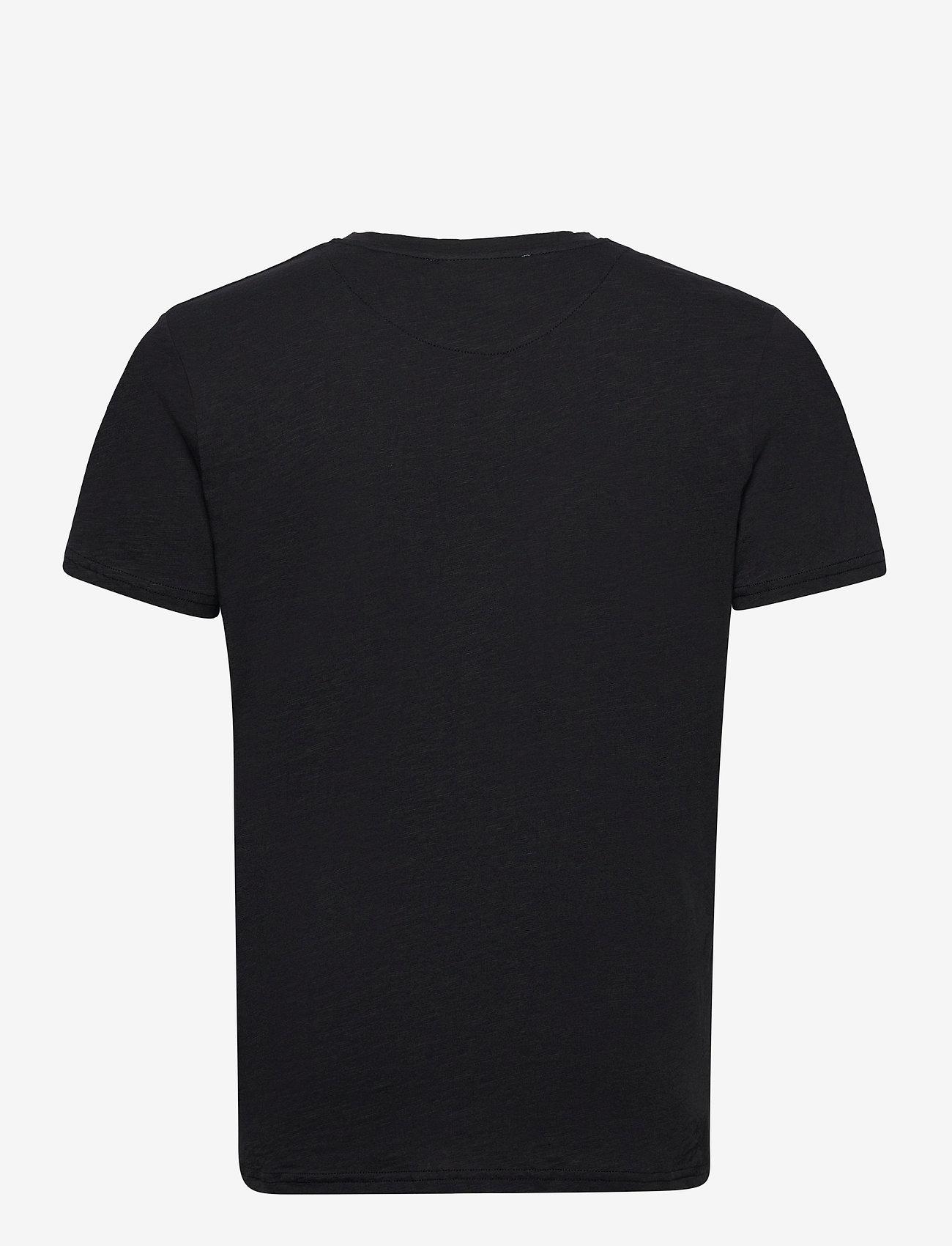 By Garment Makers - The Organic Tee w. pocket - podstawowe koszulki - jet black - 2
