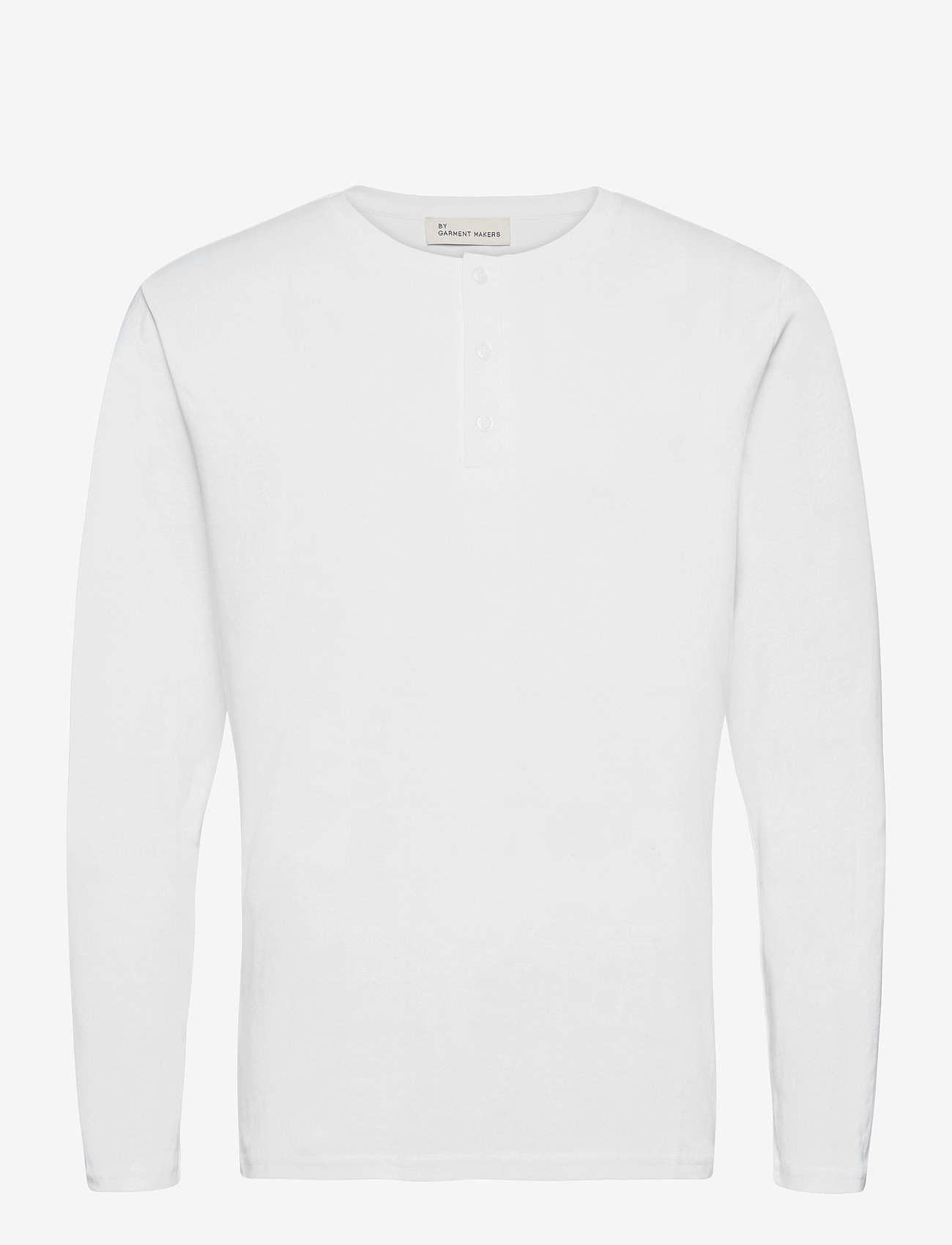 By Garment Makers - Larry LS - t-shirts basiques - white - 1