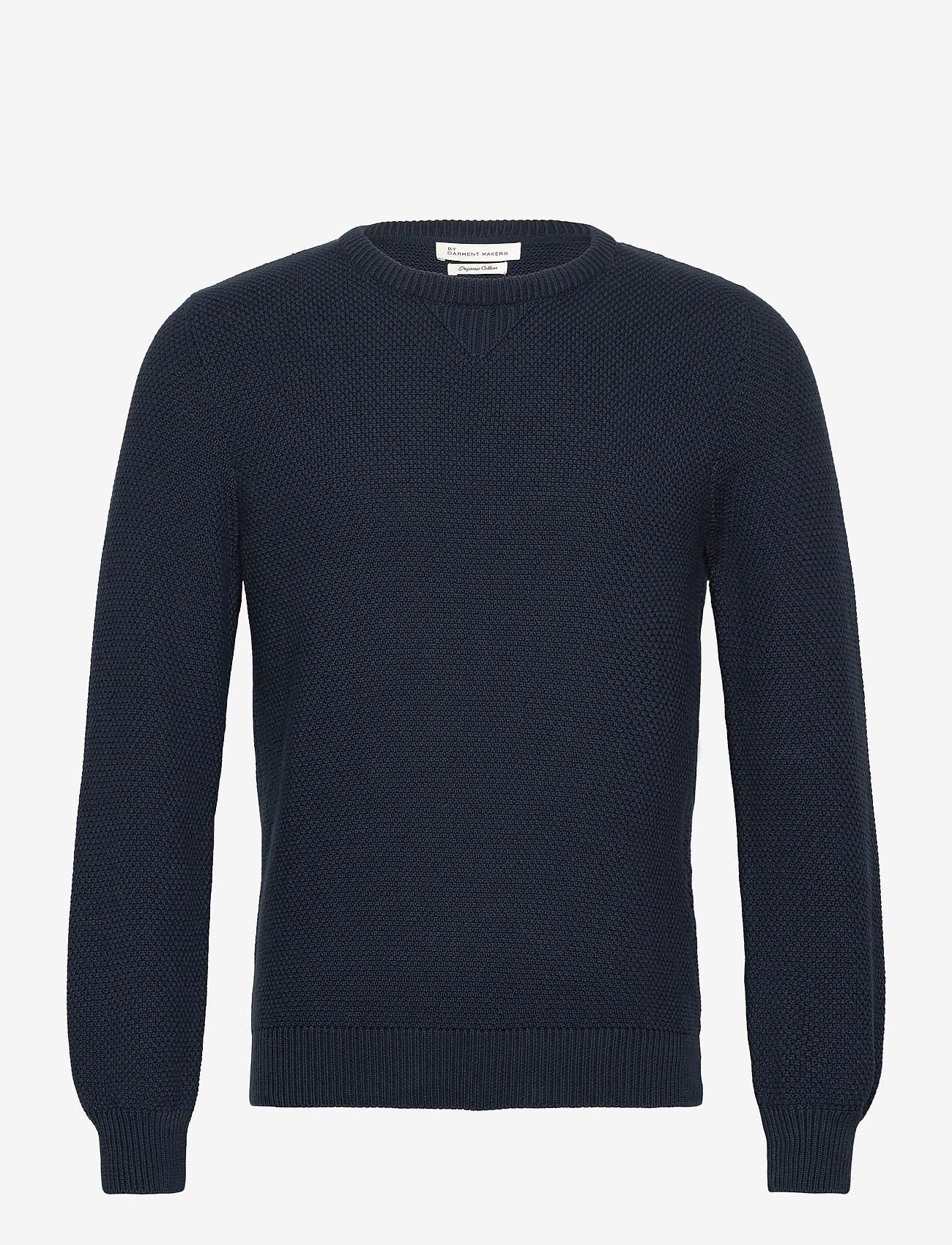 By Garment Makers - The Organic Waffle Knit - tricots basiques - navy blazer - 0