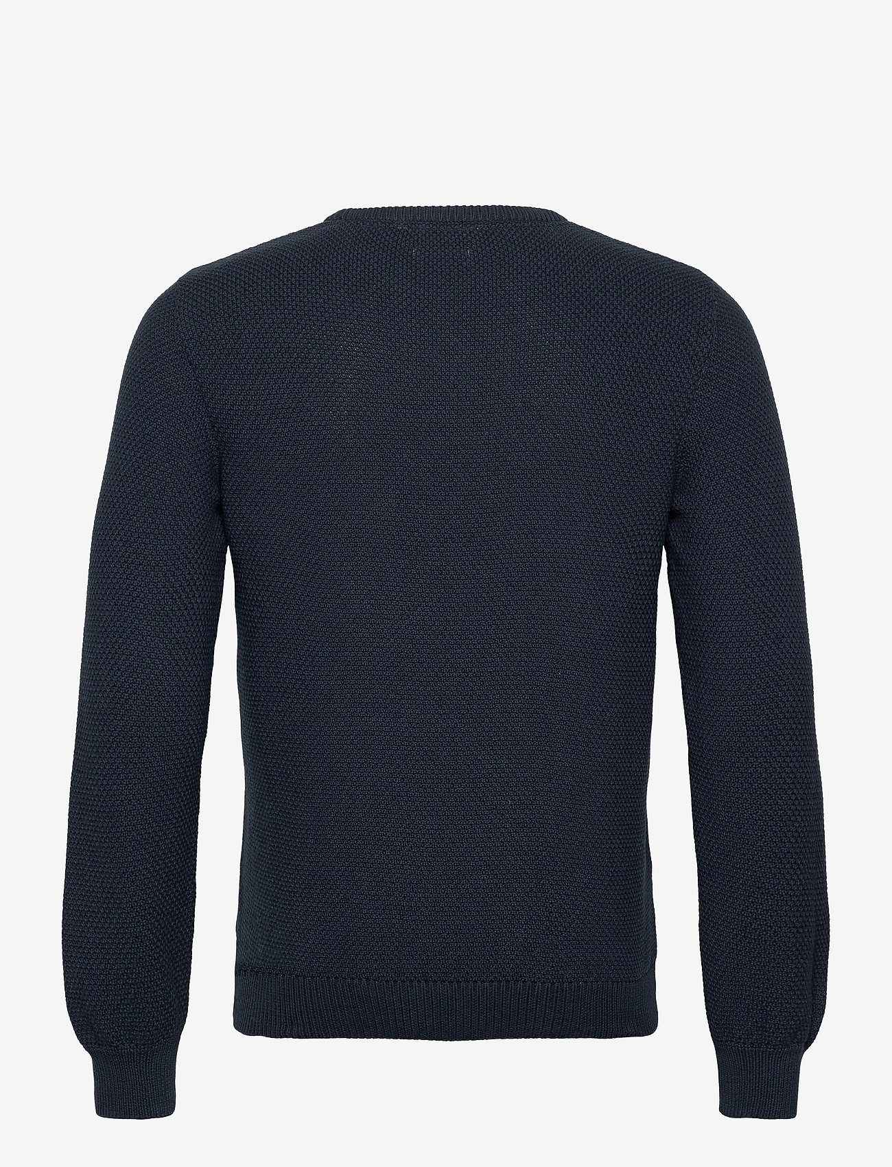 By Garment Makers - The Organic Waffle Knit - tricots basiques - navy blazer - 1
