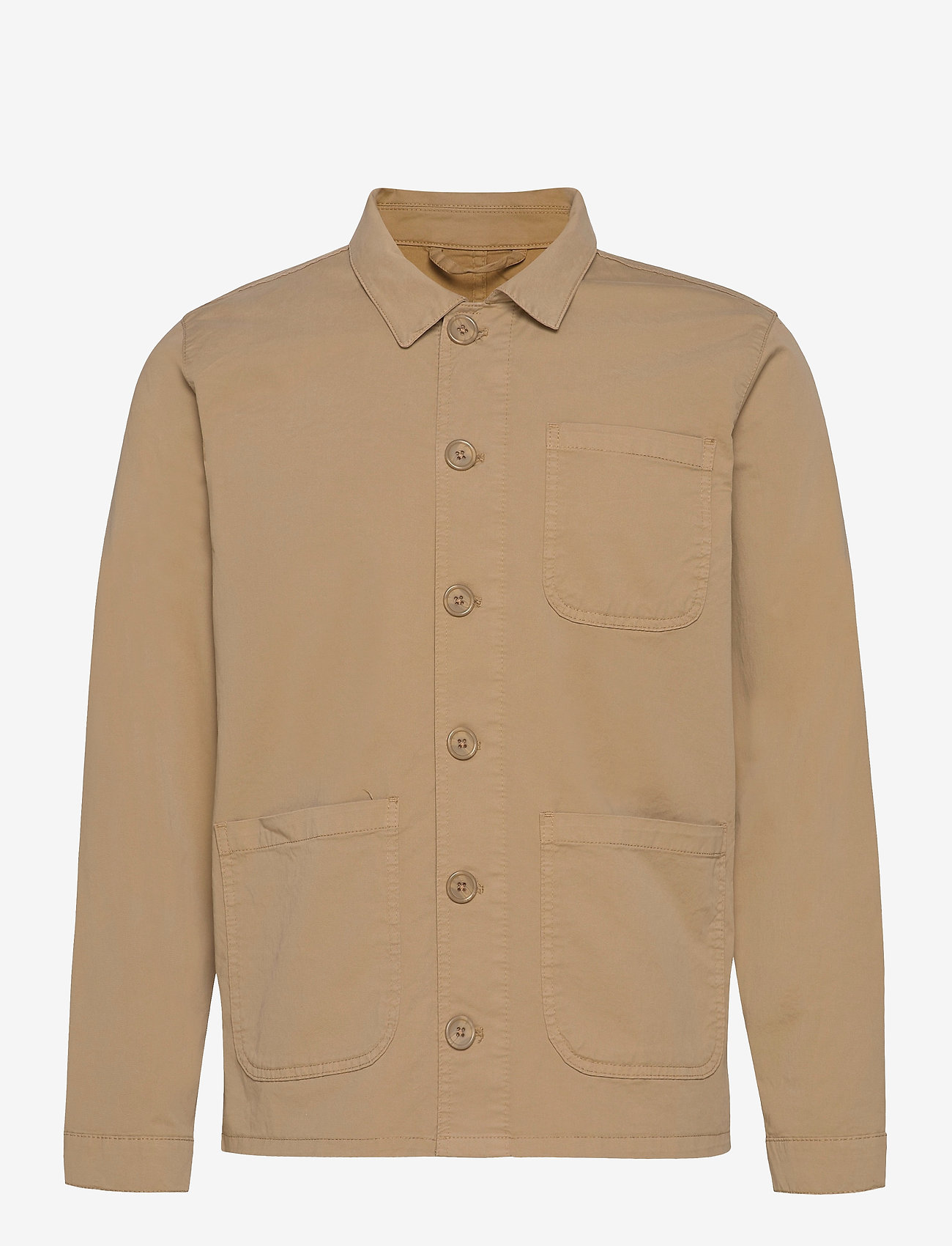 By Garment Makers - The Organic Workwear Jacket - vêtements - khaki - 1
