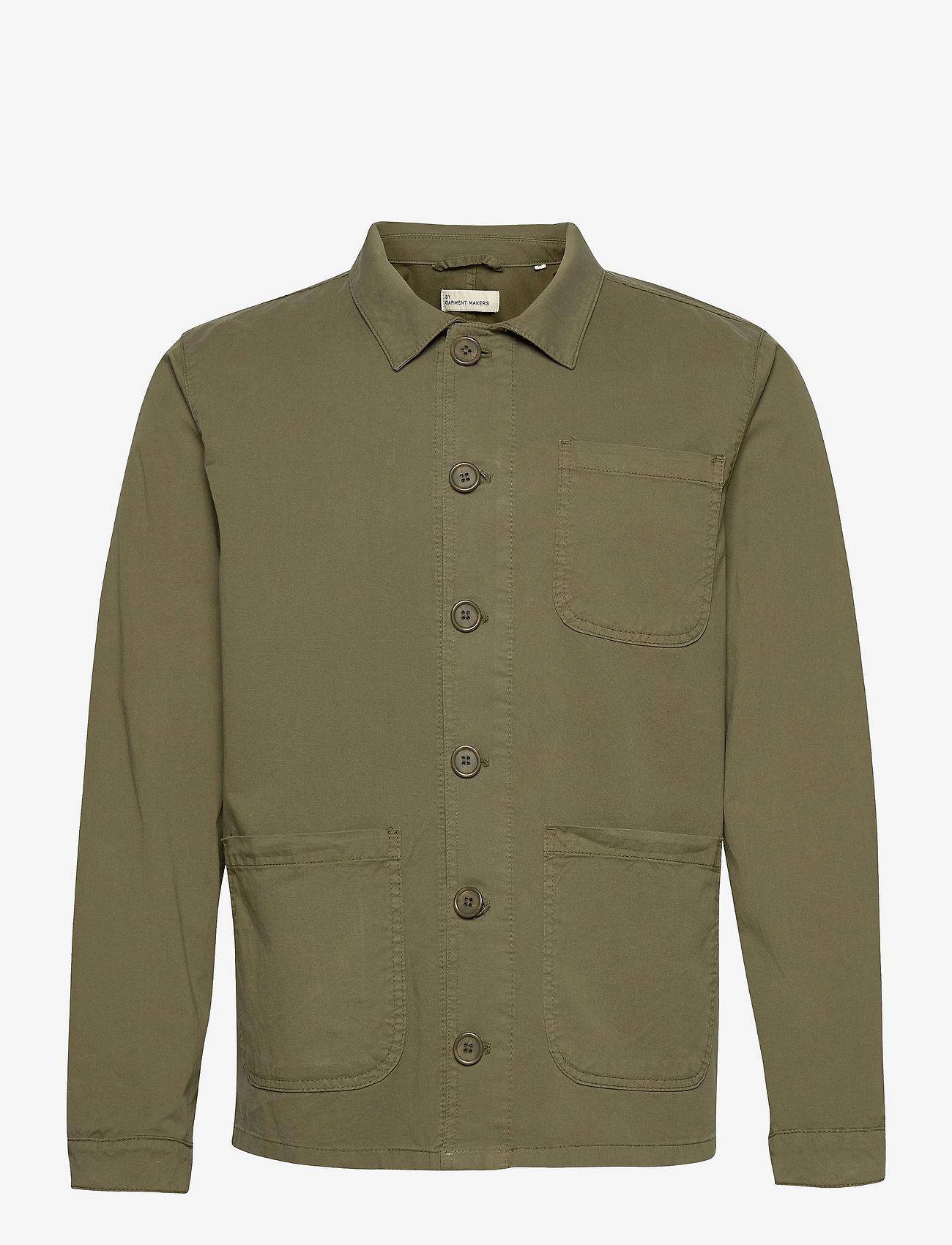 By Garment Makers - The Organic Workwear Jacket - vêtements - oil green - 1