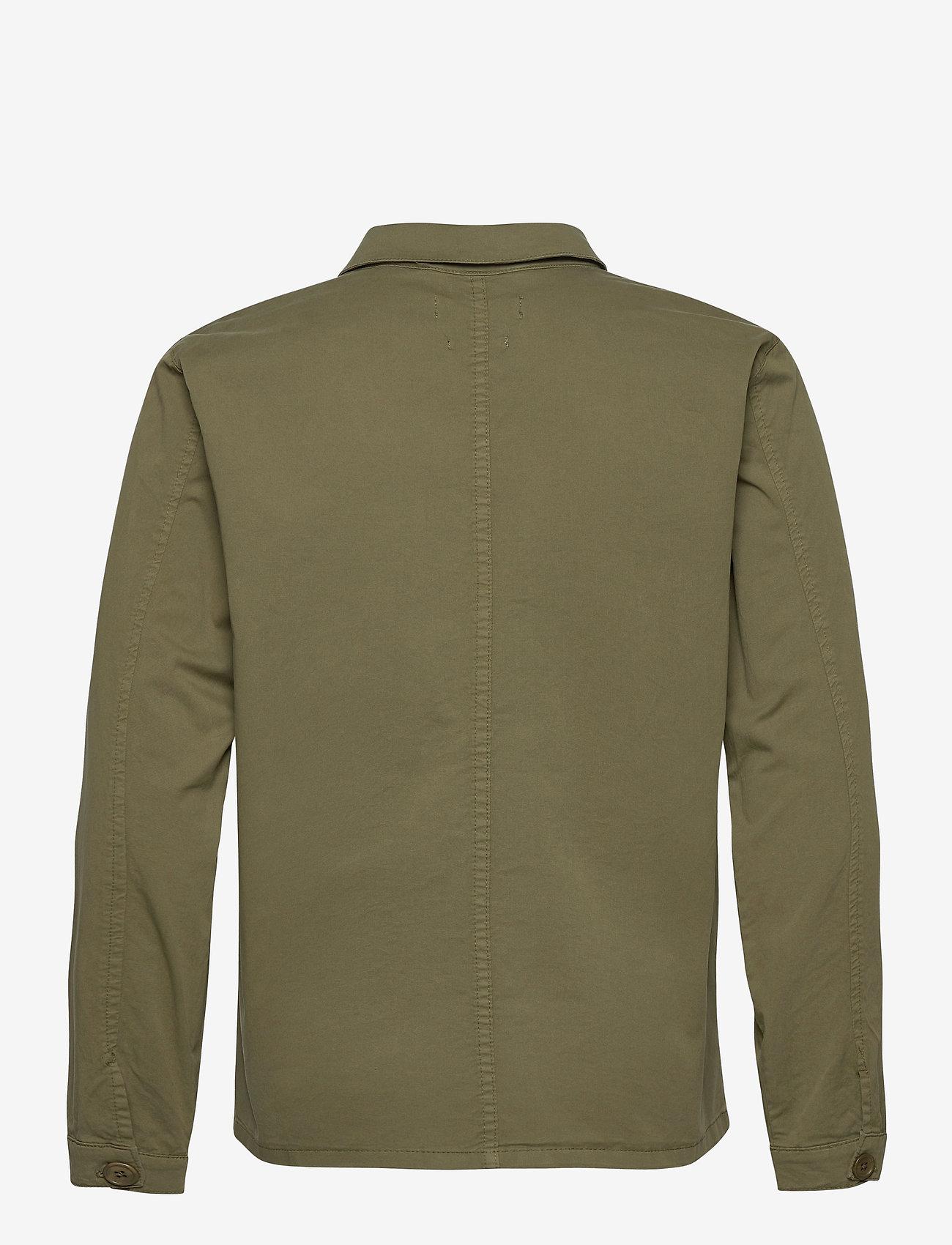 By Garment Makers - The Organic Workwear Jacket - vêtements - oil green - 2