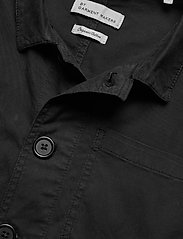 By Garment Makers - The Organic Workwear Jacket - podstawowe koszulki - jet black - 2