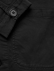 By Garment Makers - The Organic Workwear Jacket - podstawowe koszulki - jet black - 3
