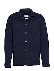 The Organic Workwear Jacket - NAVY BLAZER