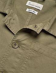 By Garment Makers - The Organic Workwear Jacket - podstawowe koszulki - oil green - 2