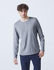 By Garment Makers - Larry LS - t-shirts basiques - grey melange - 0