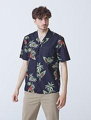 By Garment Makers - Elmer - koszule w kratkę - jet black - 2