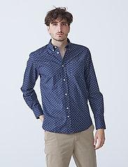 By Garment Makers - Valde - chemises de lin - navy - 0