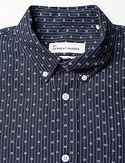 By Garment Makers - Valde - chemises de lin - navy - 3