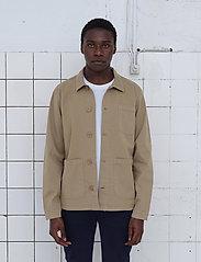 By Garment Makers - The Organic Workwear Jacket - vêtements - khaki - 0