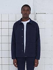 By Garment Makers - The Organic Workwear Jacket - odzież - navy blazer - 0