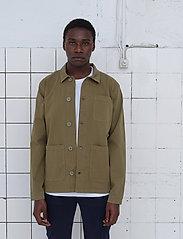 By Garment Makers - The Organic Workwear Jacket - vêtements - oil green - 0