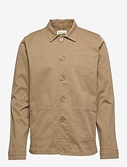 By Garment Makers - The Organic Workwear Jacket - podstawowe koszulki - khaki - 0