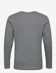 By Garment Makers - Larry LS - t-shirts basiques - grey melange - 2