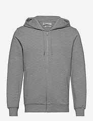 By Garment Makers - The Organic Hoodie - sweats à capuche - light grey - 1