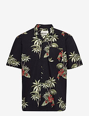 By Garment Makers - Elmer - koszule w kratkę - jet black - 0