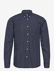 By Garment Makers - Valde - chemises de lin - navy - 1