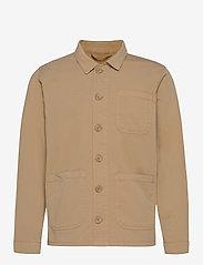 The Organic Workwear Jacket - KHAKI