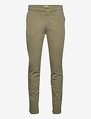 The Organic Chino Pants - OLIVINE