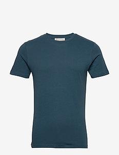 The Organic Tee - t-shirts basiques - 2504 petroleum blue