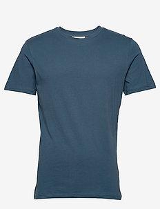 The Organic Tee - basic t-shirts - petroleum blue