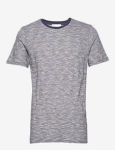 The Organic Sporty Tee - basic t-shirts - navy blazer