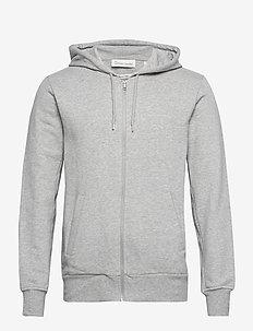 The Organic Hoodie - podstawowe bluzy - light grey