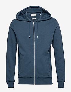 The Organic Hoodie - podstawowe bluzy - petroleum blue