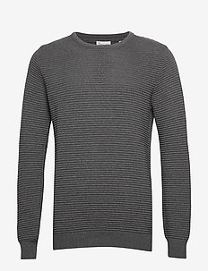 The Organic Plain Knit - perusneuleet - light grey