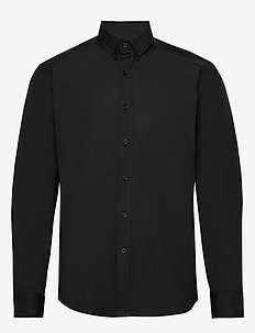 The Organic Shirt - basic shirts - black