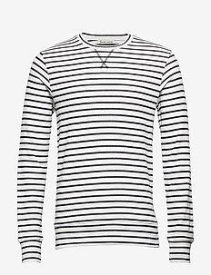 Joe - langermede t-skjorter - marchmallow
