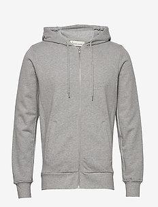 The Organic Hoodie - bluzy z kapturem - light grey