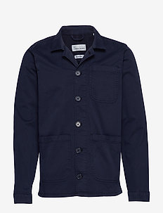 The Organic Workwear Jacket - overshirts - navy blazer