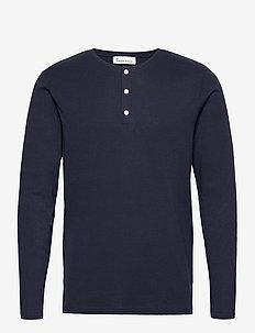 Larry LS - t-shirts - navy blazer