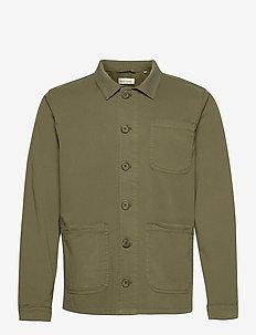 The Organic Workwear Jacket - kleidung - oil green