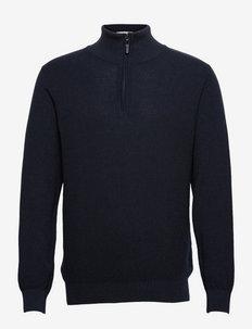 Theo Half Zip - half zip - navy blazer