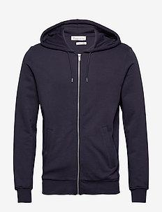The Organic Hoodie - bluzy z kapturem - navy