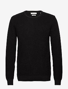 The Organic Cotton Knit - tricots basiques - black