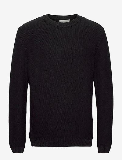 Daniel - tricots basiques - jet black