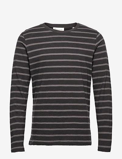 Stefano - t-shirts à manches longues - jet black