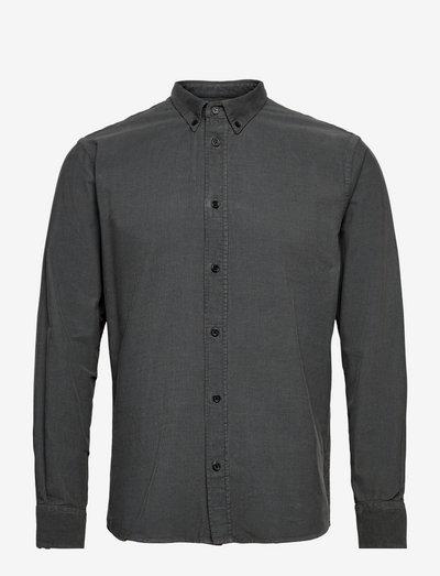 The Organic Corduroy Shirt - Vincent - chemises de lin - gray